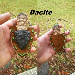 dacite neck knife